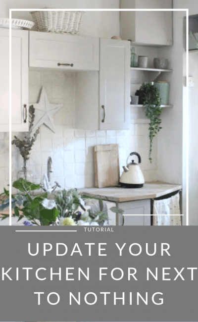 Instantly Update Your Kitchen for Next to Nothing!