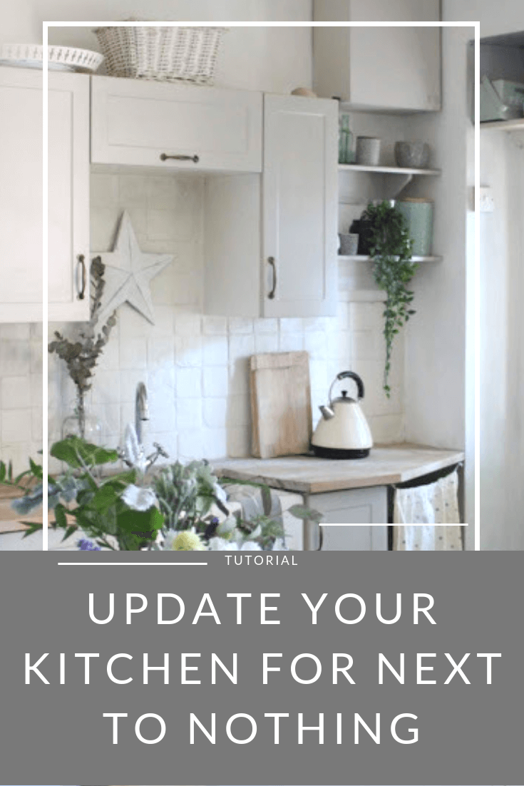 Instantly Update Your Kitchen for Next to Nothing