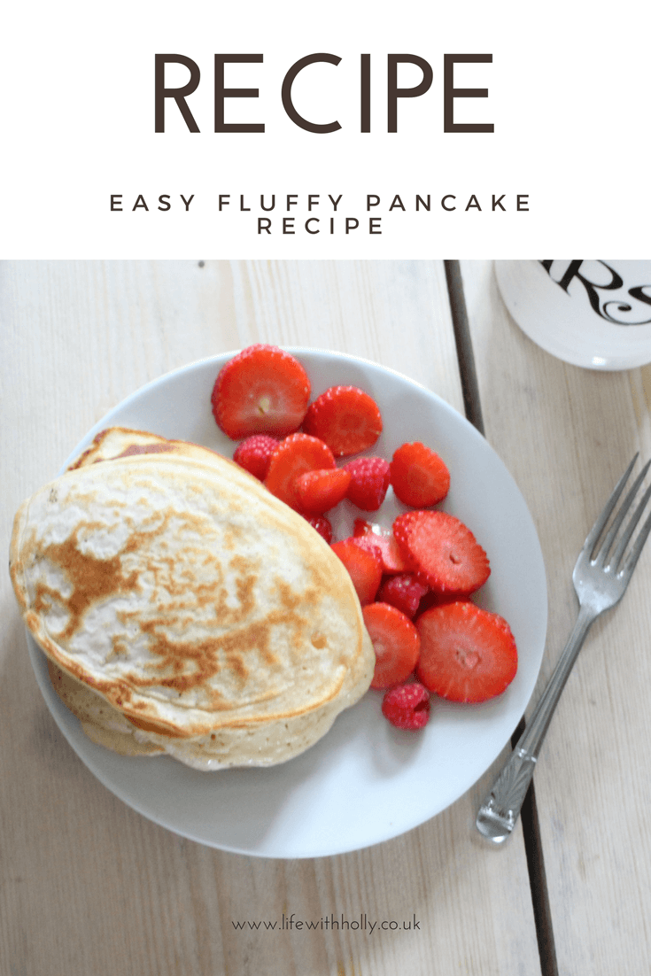Super Easy Pancake Recipe