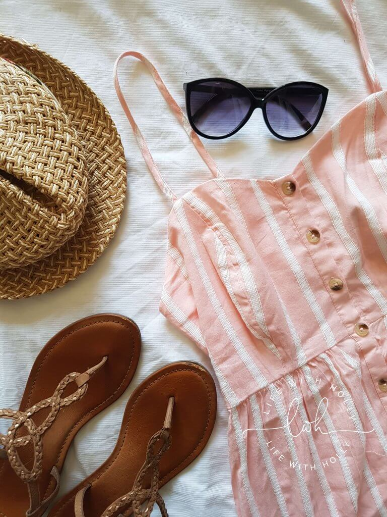 Perfect Pink Summer Dress by Life with Holly