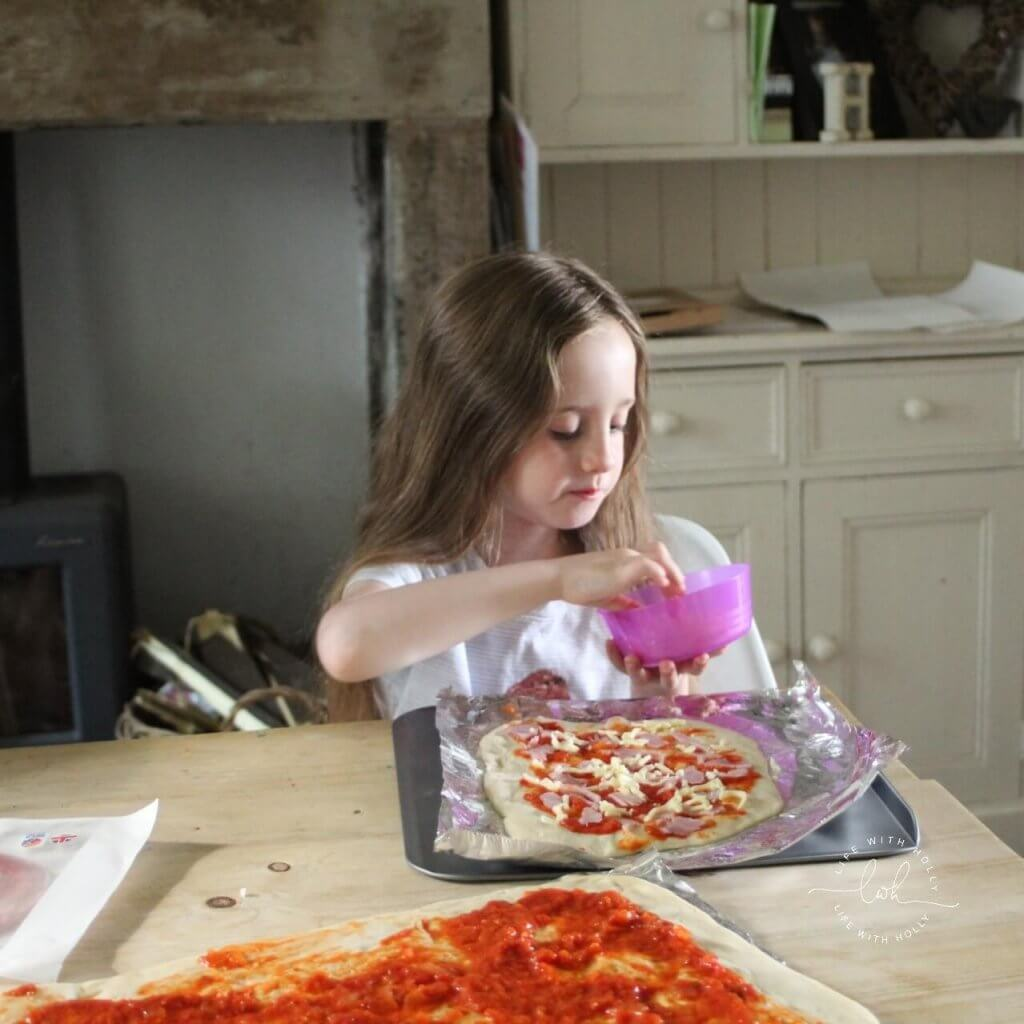 Quick and Easy Pizza Dough Recipe by Life with Holly - Cooking with Kids