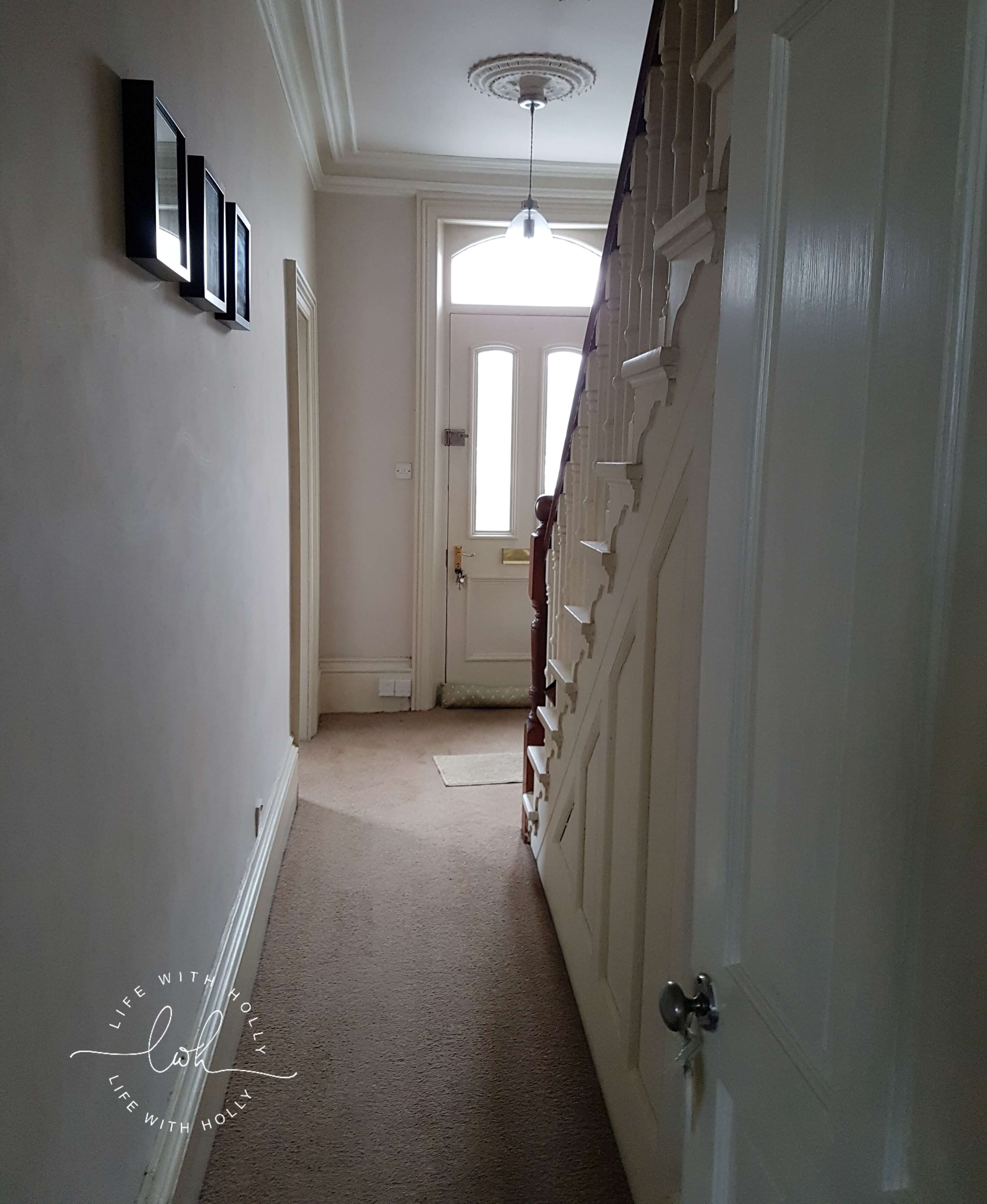 Sanding Original Floorboards Victorian Hallway Makeover - Transformation - Life with Holly