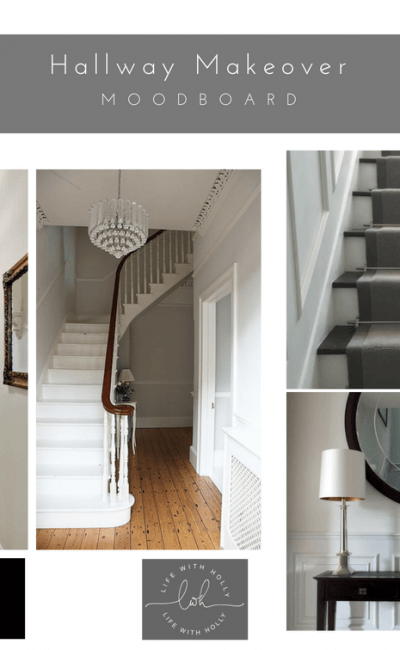 Victorian Hallway Makeover – Inspiration Board