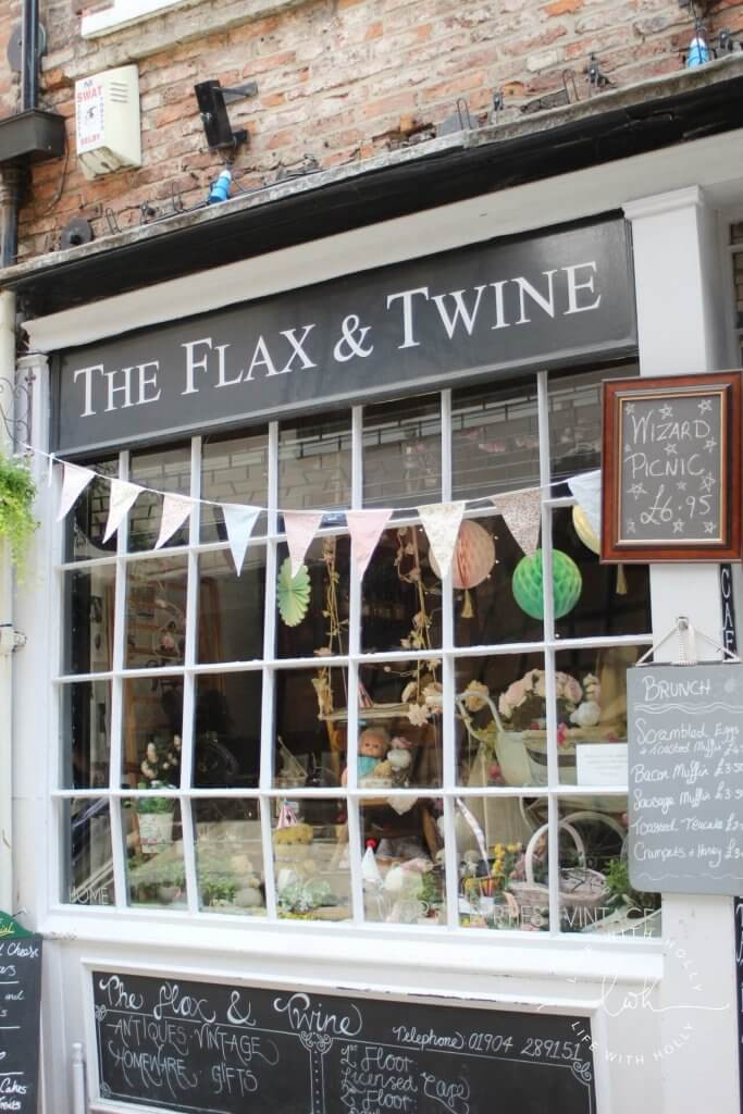 The Flax & Twine - Harry Potter in York - Day Tripping - Life with Holly