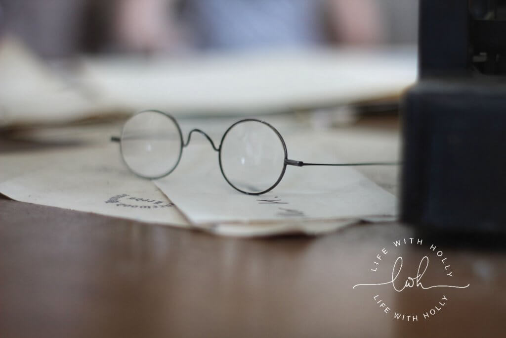 Harry Potter style glasses - Harewood House - Seeds of Hope Exhibition - Life with Holly Blog