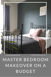 Master Bedroom Makeover on a Budget - Before and After - Life with Holly