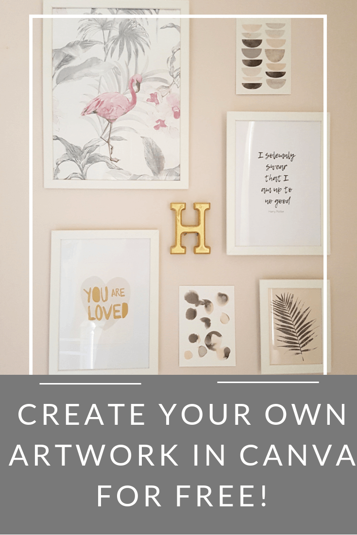 How to Create Free Typographical Artwork Tutorial by Life with Holly