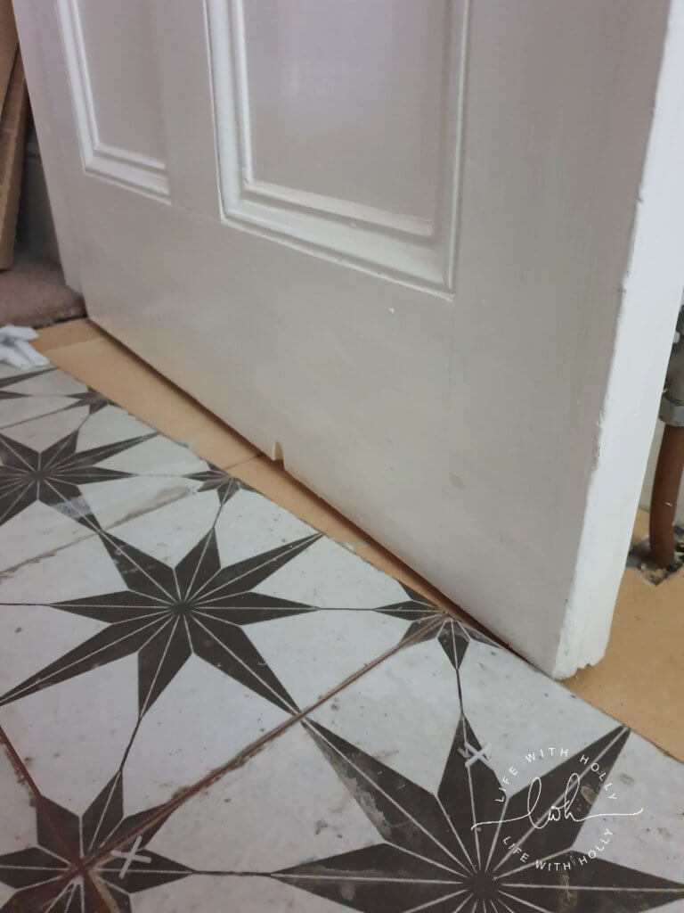 Laying Scintilla Floor Tiles Tutorial by Life with Holly