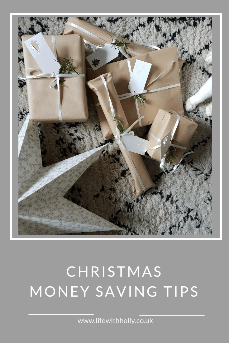 Christmas Money Saving Tips and Advice for Christmas on a Budget by Life with Holly