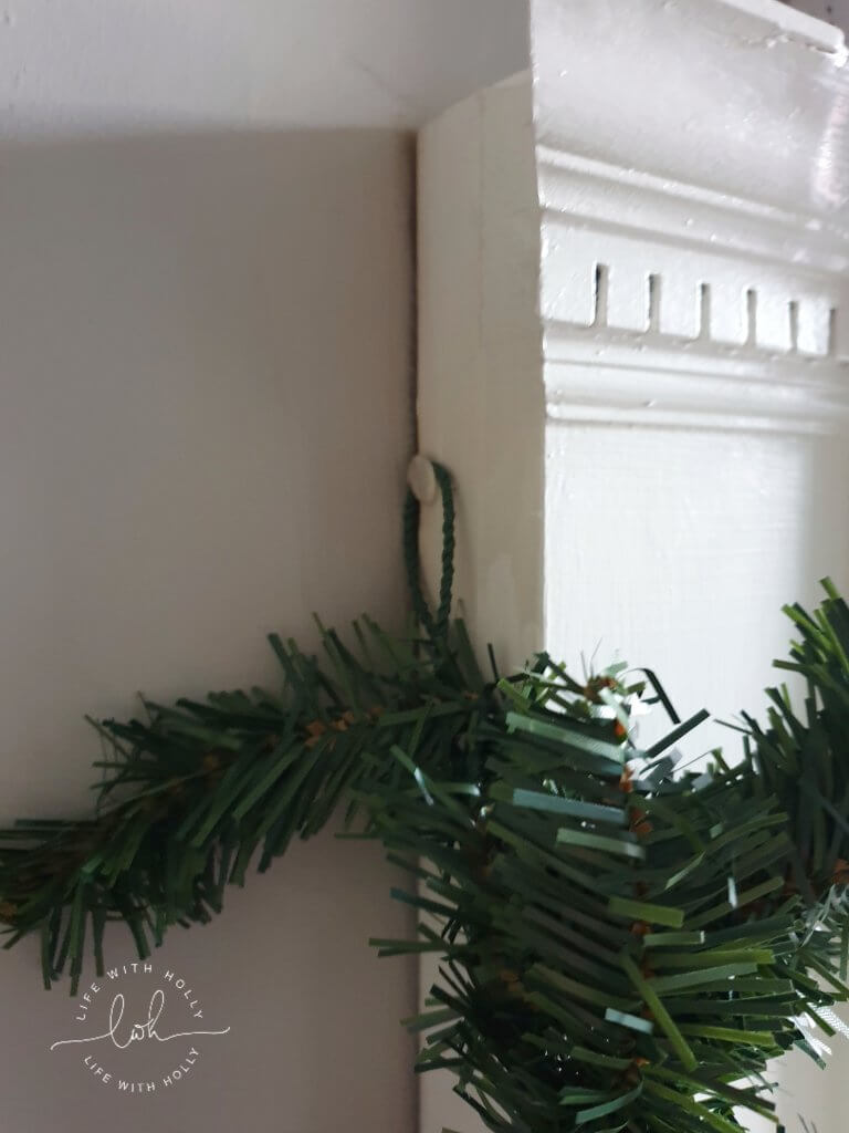 Christmas-Mantelpiece-Garland-with-Faux-Foliage-Tutorial-by-Life-with-Holly
