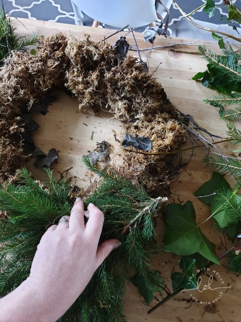 Plastic-Free-Christmas-Door-Wreath-Tutorial-by-Life-with-Holly