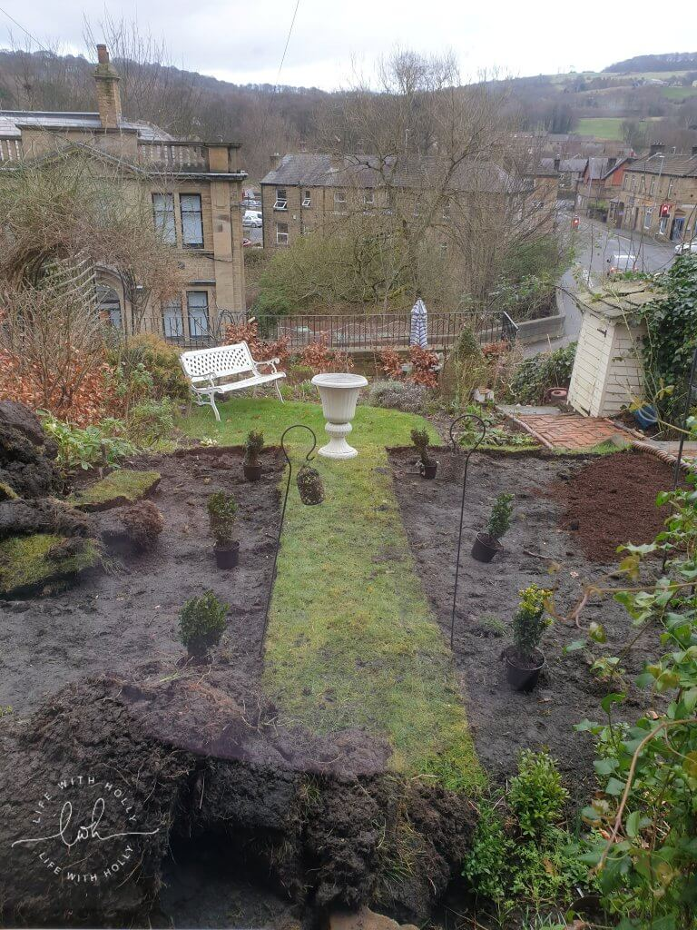 Planning New Flower Beds  North-East-Facing-Garden-New-Flower-Bed-Plants-for-Shade-by-Life-with-Holly